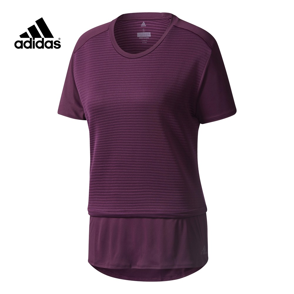 camiseta running adidas mujer