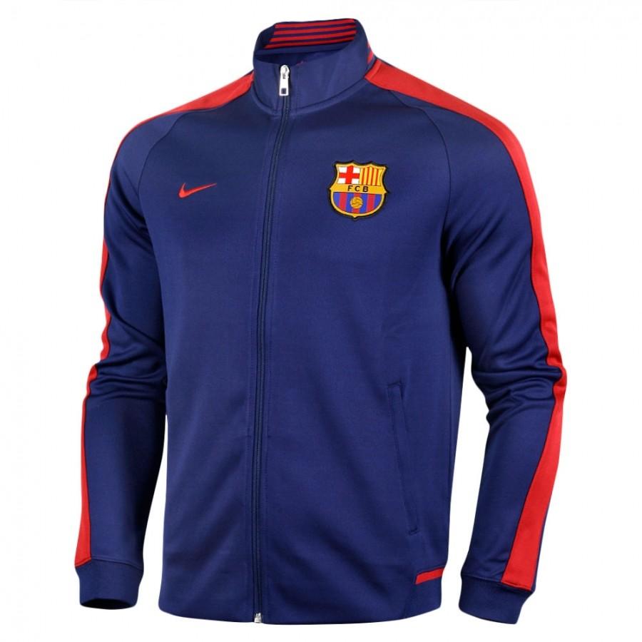 CHAQUETA OFICIAL FC BARCELONA AUTHENTIC N98 2015-2016 HOMBRE 689953-421 9da654356e4