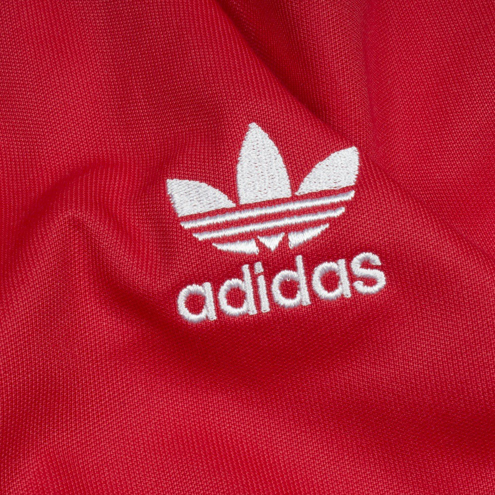 chaqueta roja adidas mujer