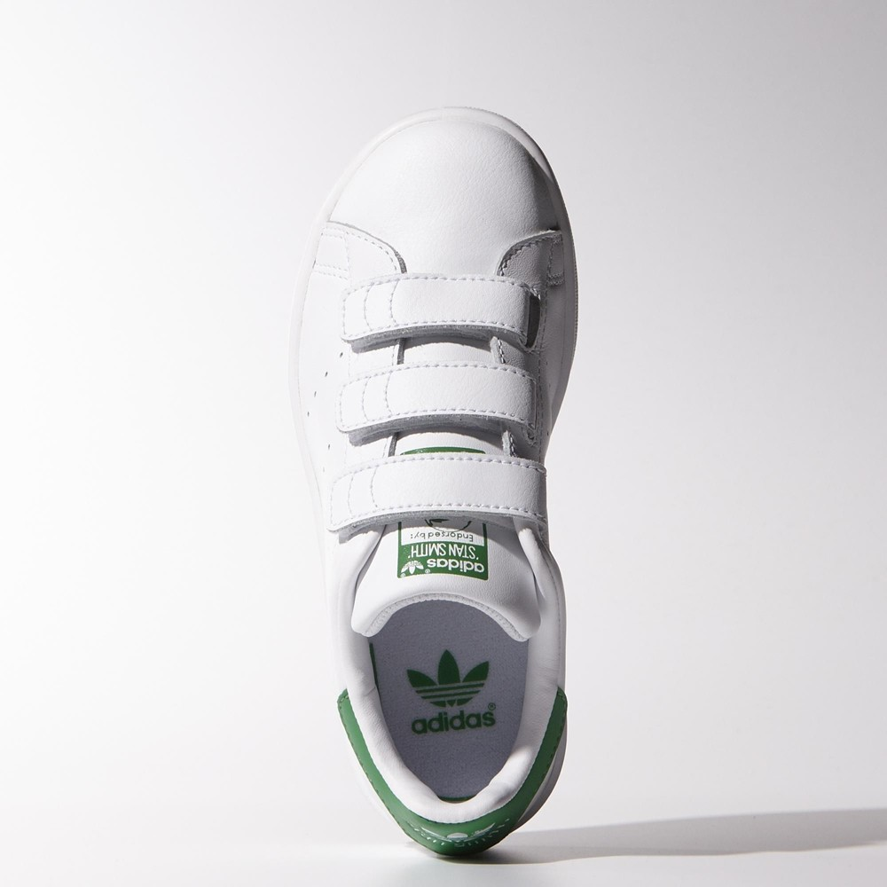stan smith velcro niño
