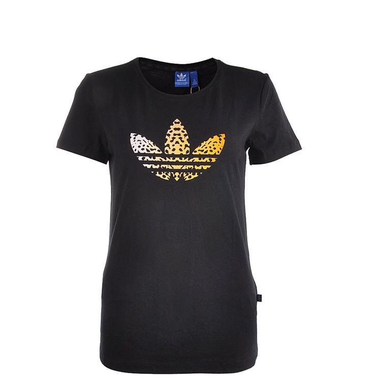 camisetas mujer adidas negra