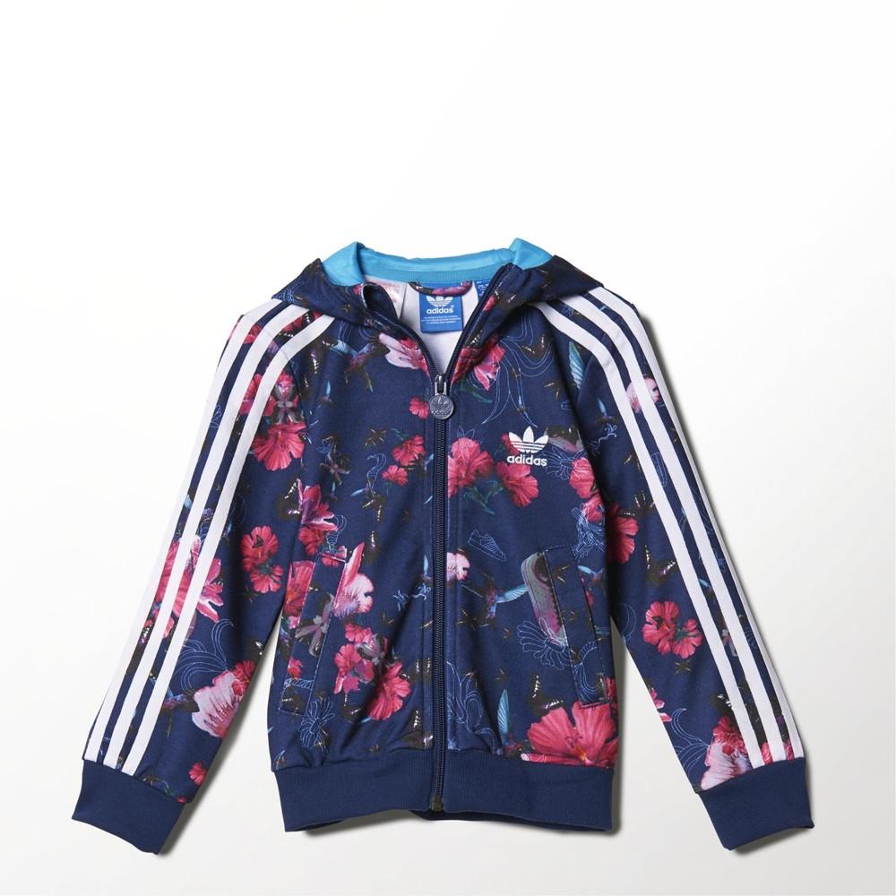 chaqueta de adidas de niña