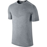 CAMISETA RUNNING NIKE DRI-FIT KNIT SHORT SLEEVE HOMBRE 589640-012