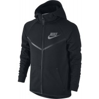 CHAQUETA NIKE SPORTSWEAR TECH FLEECE WINDRUNNER NIÑO 804730-011