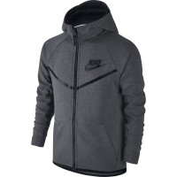 CHAQUETA NIKE SPORTSWEAR TECH FLEECE WINDRUNNER NIÑO 804730-092