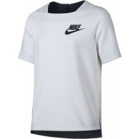 CAMISETA NIKE TECH FLEECE NIÑA 830721-100