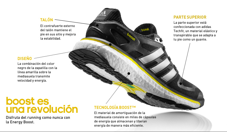 zapatillas adidas running boost